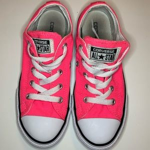 Converse size 1 all stars hot pink